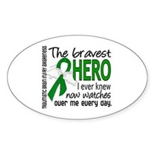 Bravest Hero I Knew TBI Decal