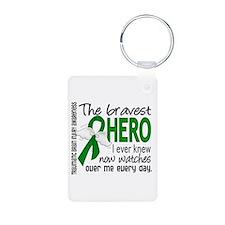 Bravest Hero I Knew TBI Keychains