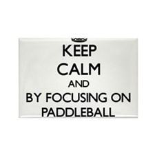 Keep calm by focusing on Paddleball Magnets