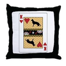 King Shiloh Throw Pillow