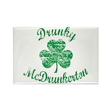 Vintage Drunky McDrunkerton Magnets