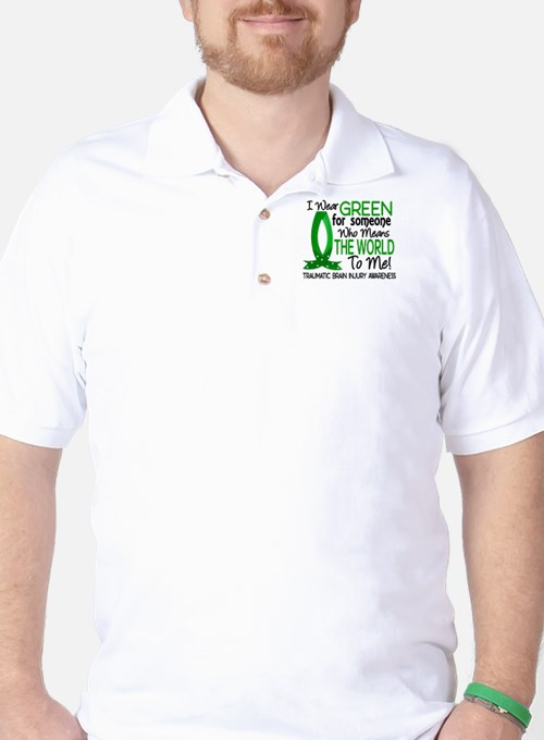 Means World to Me 1 TBI Golf Shirt