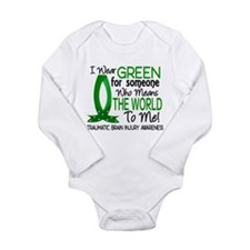 Means World to Me 1 TB Long Sleeve Infant Bodysuit