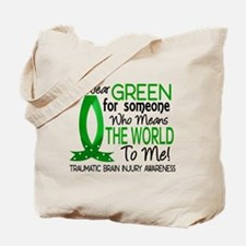 Means World to Me 1 TBI Tote Bag