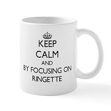 Keep calm by focusing on Ringette Mugs