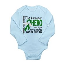 Bravest Hero I Knew Ce Long Sleeve Infant Bodysuit