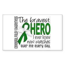 Bravest Hero I Knew Cerebral P Decal