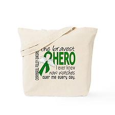 Bravest Hero I Knew Cerebral Palsy Tote Bag