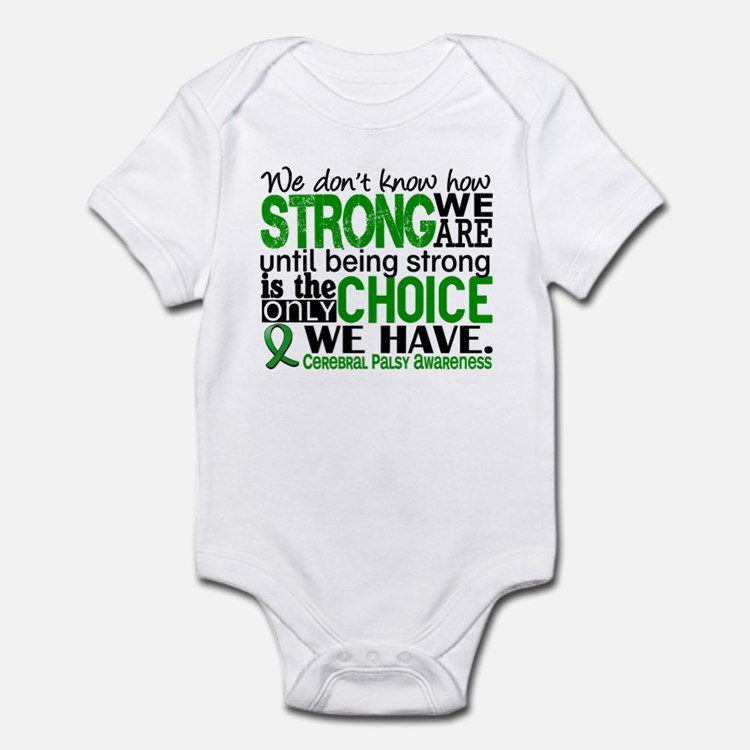 How Strong We Are Cerebral Palsy Infant Bodysuit