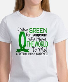 Means World to Me 1 Cerebral Palsy Women's T-Shirt