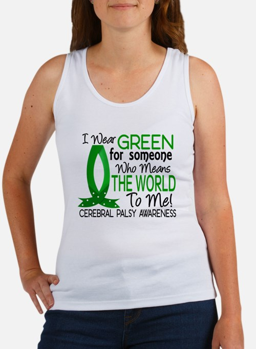 Means World to Me 1 Cerebral Pals Women's Tank Top