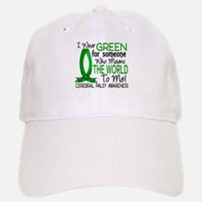 Means World to Me 1 Cerebral Palsy Baseball Baseball Cap