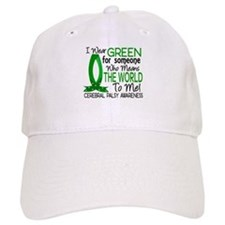 Means World to Me 1 Cerebral Palsy Baseball Cap