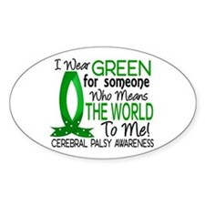 Means World to Me 1 Cerebral Palsy Bumper Stickers