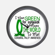 Means World to Me 1 Cerebral Palsy Wall Clock