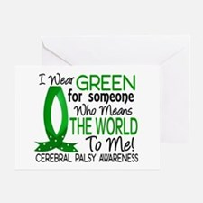 Means World to Me 1 Cerebral Palsy Greeting Card