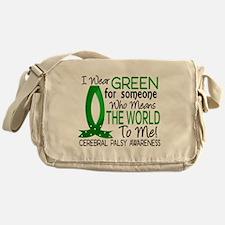 Means World to Me 1 Cerebral Palsy Messenger Bag