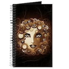 Steampunk Girl Portrait Journal