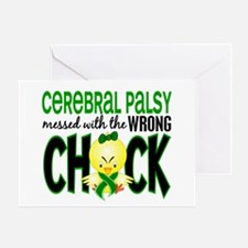 Messed With Wrong Chick 1 Cerebral Palsy Greeting