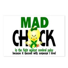 Mad Chick 1 Cerebral Pals Postcards (Package of 8)