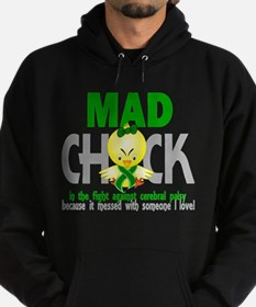Mad Chick 1 Cerebral Palsy Hoodie