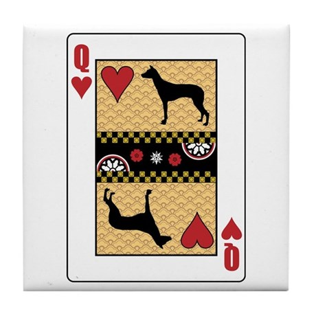 Queen PIO Tile Coaster