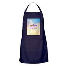 I'm a Social Worker. What's Your Supe Apron (dark)