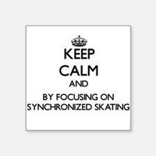 Keep calm by focusing on Synchronized Skating Stic