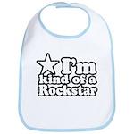 I'm Kind of a Rockstar Bib