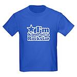 I'm Kind of a Rockstar Kids Dark T-Shirt