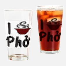 I Eat Pho Drinking Glass