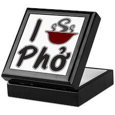I Eat Pho Keepsake Box
