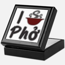 I Eat Pho Keepsake Box