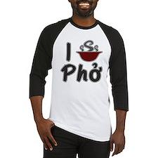 I Eat Pho Baseball Jersey