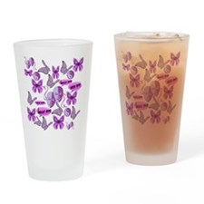 Invisible Illness Collage Drinking Glass