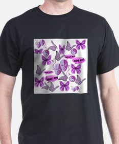 Invisible Illness Collage T-Shirt