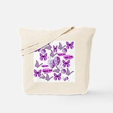 Invisible Illness Collage Tote Bag