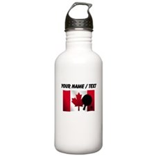 Custom Table Tennis Canadian Flag Sports Water Bot