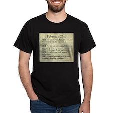 February 21st T-Shirt