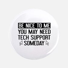"Be Nice To Me 3.5"" Button (100 pack)"