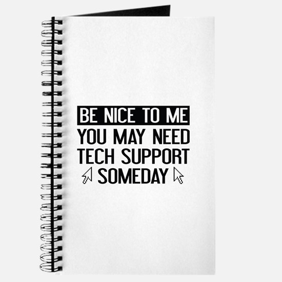 Be Nice To Me Journal
