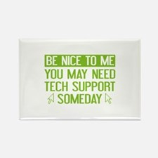 Be Nice To Me Rectangle Magnet (10 pack)