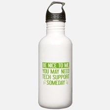 Be Nice To Me Water Bottle