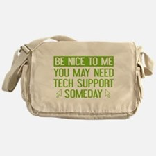 Be Nice To Me Messenger Bag