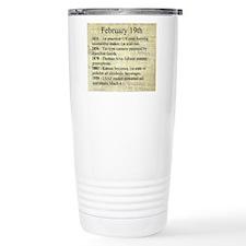 February 19th Travel Mug