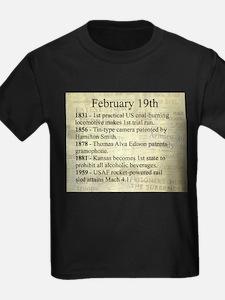 February 19th T-Shirt