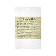 February 18th 3'x5' Area Rug