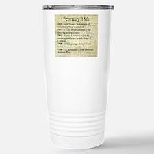 February 18th Travel Mug