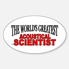 """""""The World's Greatest Acoustical Scientist"""" Sticke"""