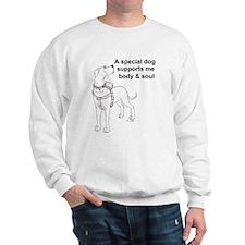 N Support Dog Sweatshirt